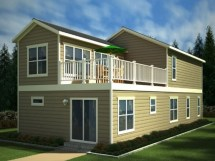 Two-Story Double Wide Mobile Homes
