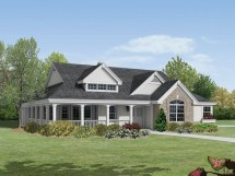 House Plans with Large Front Porches