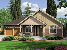 Rustic Craftsman Style House Plans Mountain