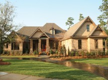 Rustic Country House Plans with Porches