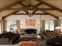 Black Traditional Rooms Home Traditional Keeping Rooms ...
