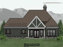 Economical Small Cottage House Plans One Story