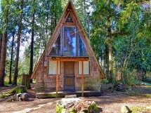 Frame Small Cabin Plans Cabins Tiny Houses