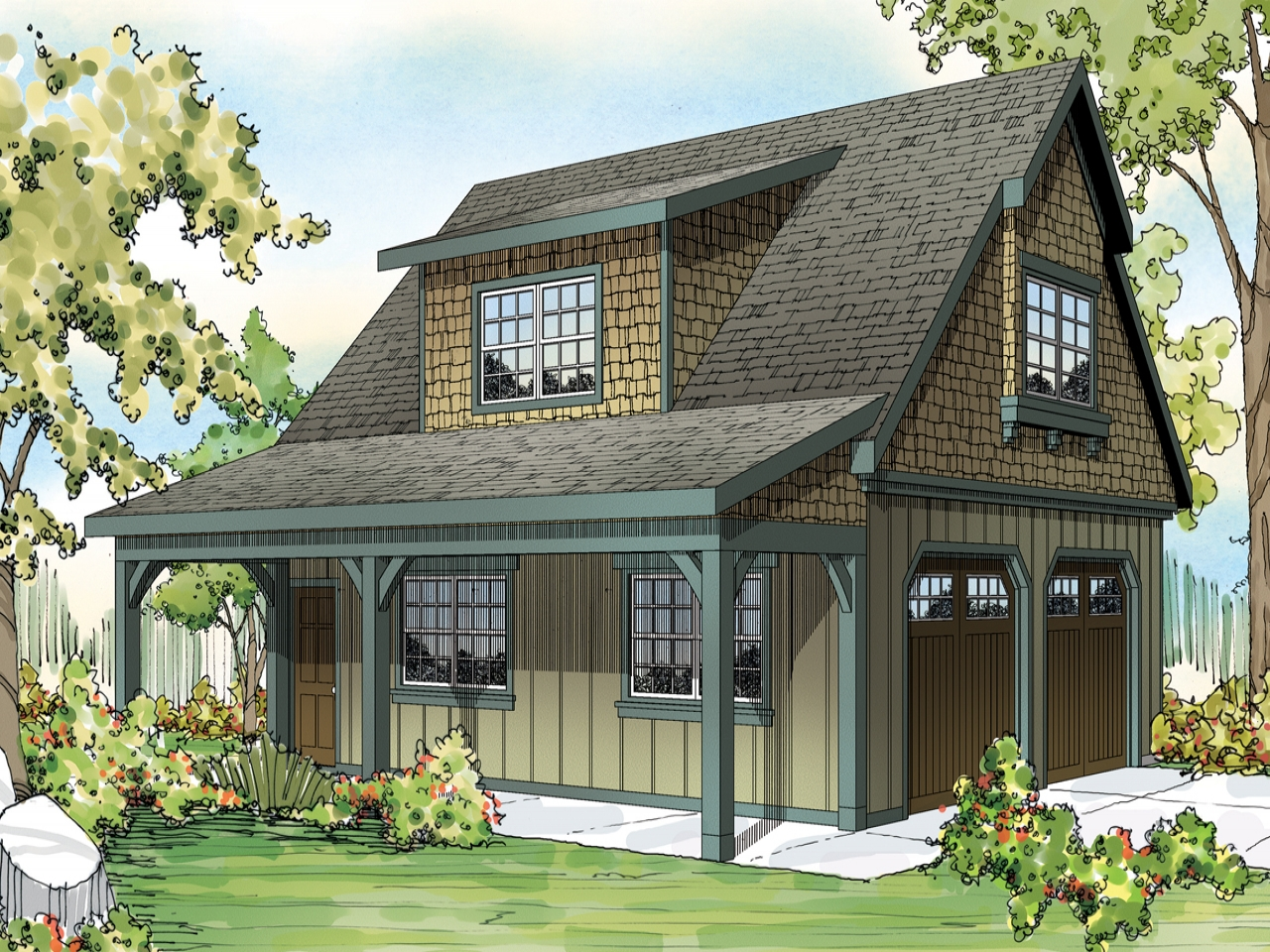 Single Story Craftsman House Plans Craftsman House Plans
