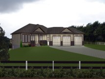 Small Guest House Plans With Attached 3 Car