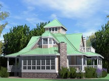 Southern Beach Cottage House Plans