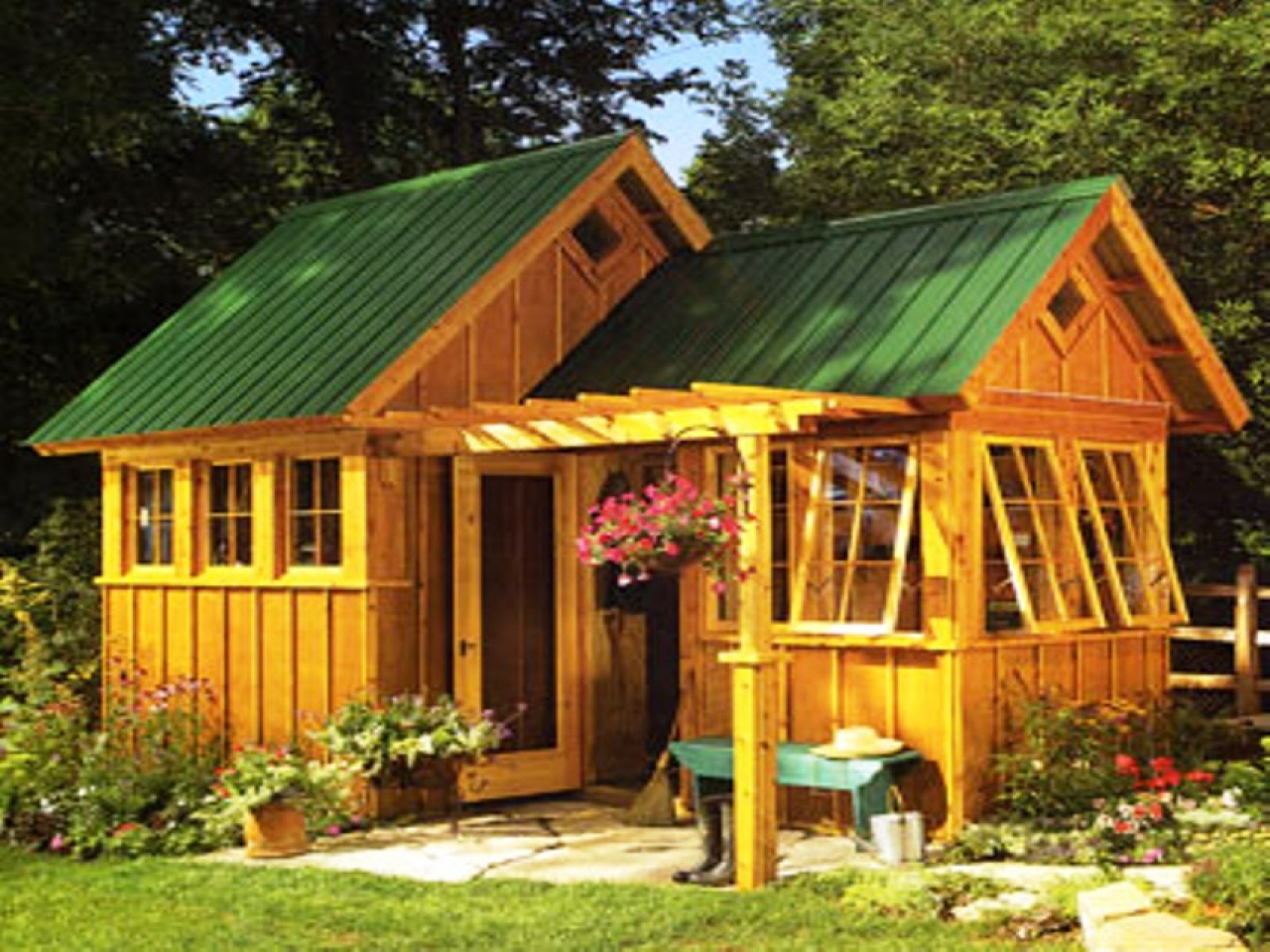 Garden Shed Ideas Beautiful Garden Sheds cabins design