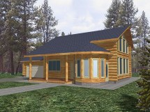 Rustic Lake Home House Plans Modern