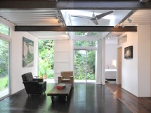 Savannah Shipping Container Home Underground