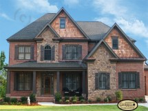 House Plans with Brick and Stone Exterior