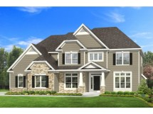 2 Story 4-Bedroom Craftsman House Plans