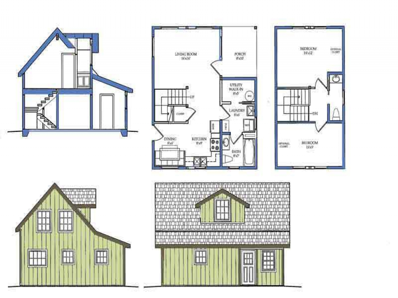 Single Story Craftsman House Plans Small House Plans with