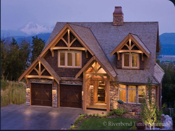 Stone And Timber Home Design Riverbend Frame Homes