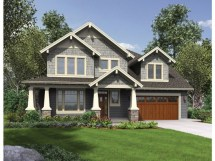 3 Bedroom House Design Craftsman Plans
