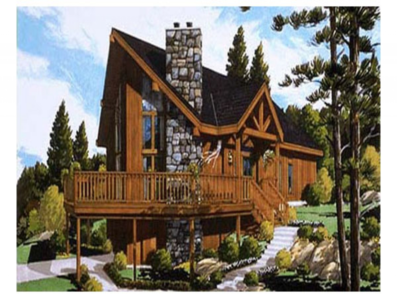 Chalet Style Modular Home Plans Chalet House Plans chalet