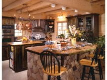 Country House Plans with Kitchen
