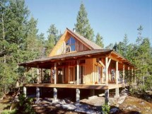 Small Cabin House Plans with Porches