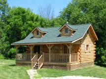 Amish Built Hunting Cabins West