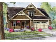 Cottage House Plans with Garage