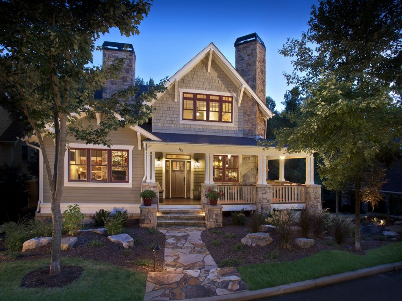 Ranch Home Exterior