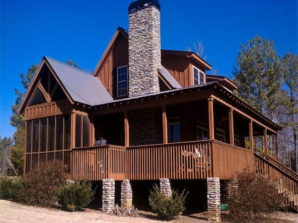 Rustic Small 2 Story Cabins Cabin House Plans