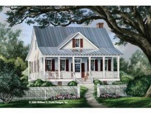 Farmhouse Country Cottage House Plan