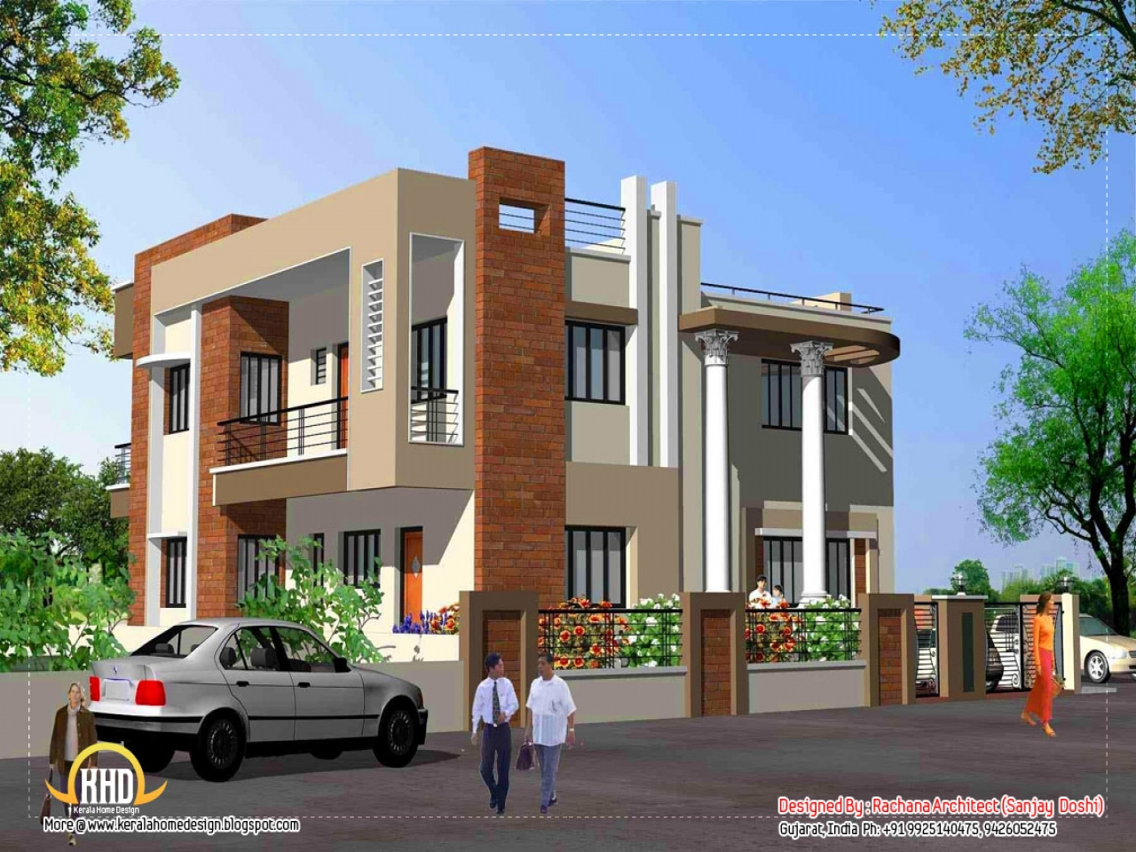 New Home Elevations Home Elevation Design India Indian Home Plans And Designs Treesranch Com