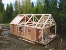 Small Timber Frame Cabin Kits Plans