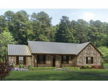 Country Ranch Style House Plans Decks