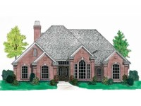 French Country House Plans One Story Small Country House ...
