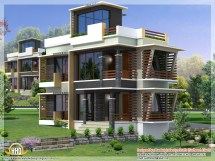 Modern House Elevation Design Front