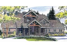 Mountain Lodge House Plans Style