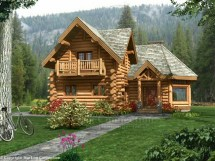 Rustic Log Cabin Plans Home And
