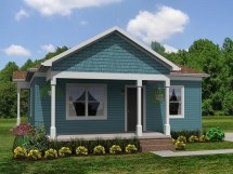 Small House Plans Ranch Style Home
