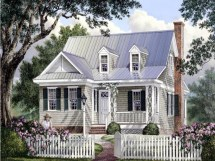 Southern Cottage Style House Plans