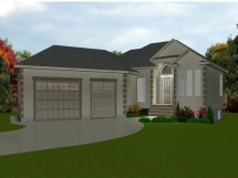 Bungalow House Plans with Attached Garage