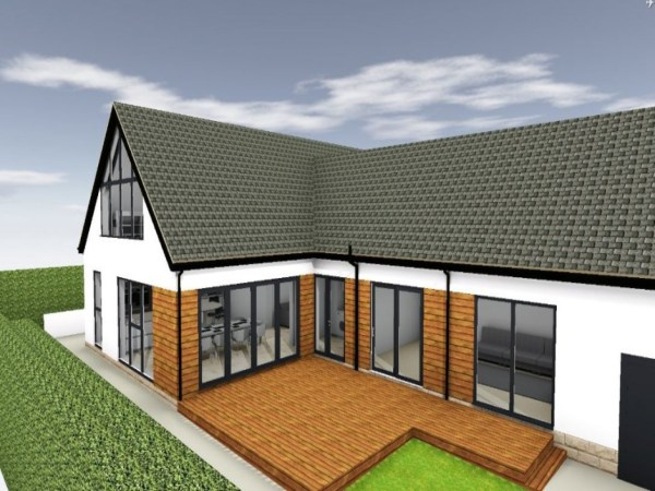 Bungalow Painting Ideas Extension