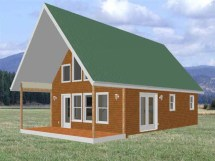 Cabin with Loft Plans Free