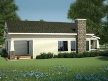 Bungalow Cottage Home Plans Country House Small
