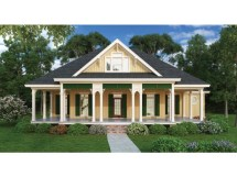 Country Cottage House Plans Wrap Porch