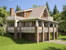 Hillside House Plans with Walkout Basement