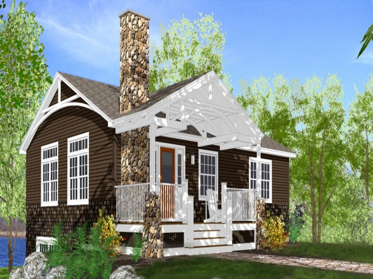House Plans Small Lake Lake Cottage House Plans Lake