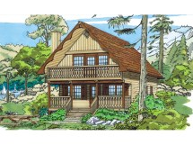 Mountain Chalet House Plans