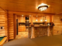 Log Cabin Homes with Basement