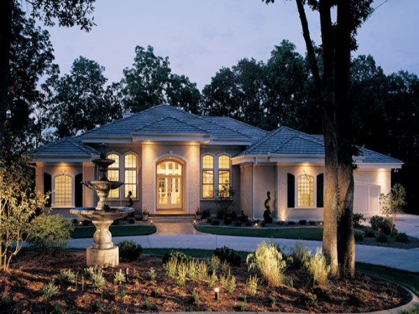 Luxury Ranch Style Home Stone