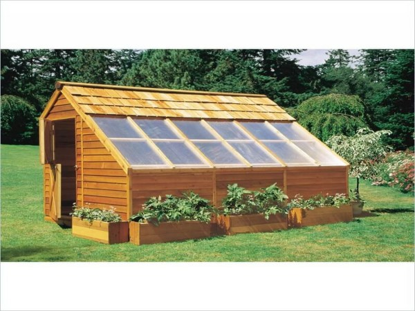 Wood Greenhouse Plans Build Wooden