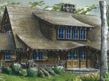 Summer Lake Cottage House Plans