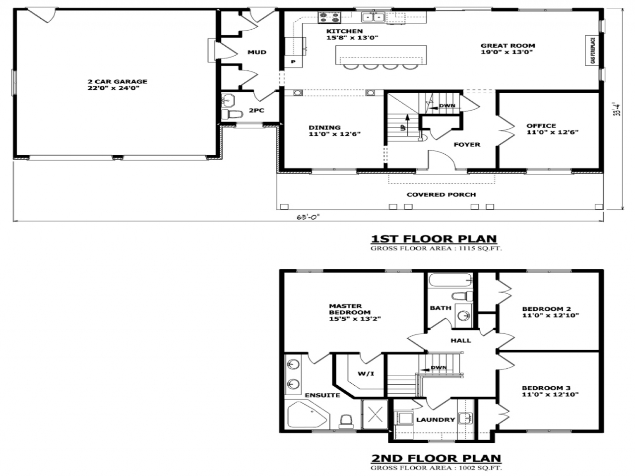 Simple Two Story House Plans Two Storey House Plans