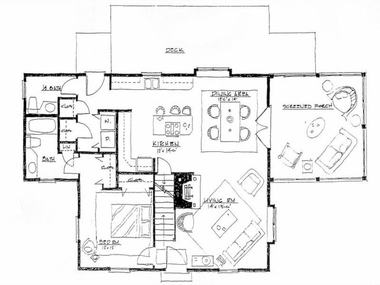 Minimalist House Design: Floor Plan Ark House Design