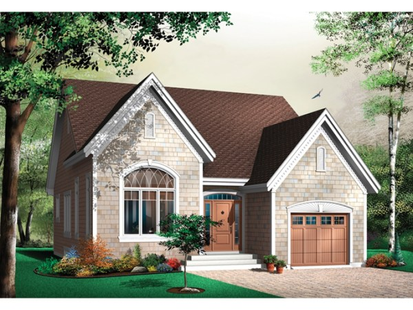 Small English Cottage House Plans